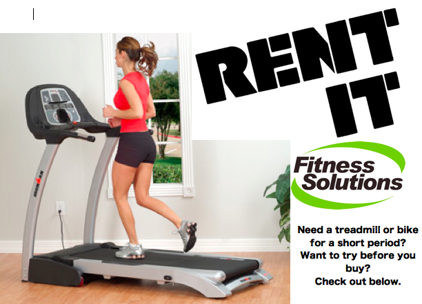 Fitness solutions for home equipment sales and
